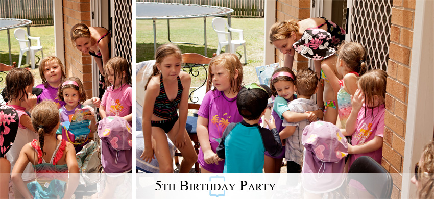 5thBirthday13 A Wet & Wild Backyard 5th Birthday Party