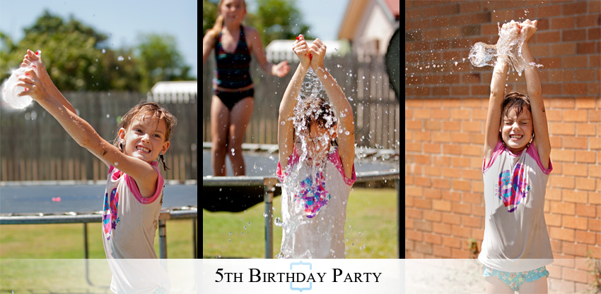 5thBirthday17 A Wet & Wild Backyard 5th Birthday Party
